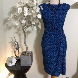 RALPH LAUREN RAY BLUE DRESS